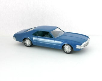 1968 Oldsmobile Toronado Vintage Friction Model Car Dealer Promo