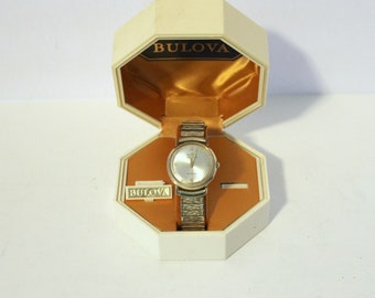 Vintage Bulova M3 Men's Watch 10K RGP Self Winding in Original Box