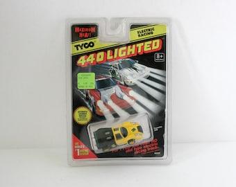 Tyco 440 Lighted Porsche 908 Slot Car MIP MOC