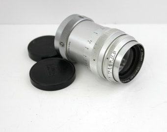 Steinheil Muchen Culminar VL 85mm 8.5cm f2.8 Lens w/ Leica Screw Mount