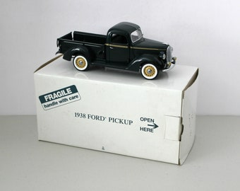 Vintage 1938 Ford Pickup Danbury Mint Replica Model Truck