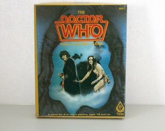 Doctor Who Role Playing Game, Fasa RPG, with Extra Supplement Books Dalek, Lords of Destiny, Iytean Menace