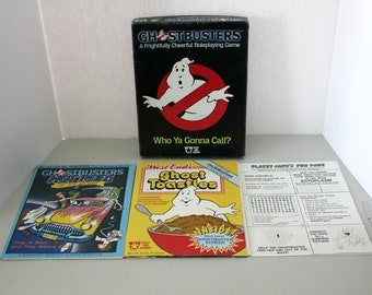 Ghostbusters RPG West End Role Playing Games, Plus Toasties, Hot Rods of The Gods