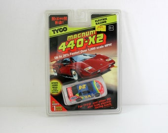 Vintage Tyco Magnum 440 X2 Slot Car Monte Carlo 1996 MIP Sealed MOC