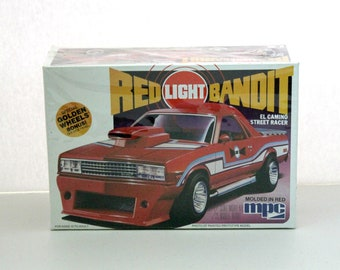 1981 Red Light Bandit El Camino Street Racer Sealed Model Kit MPC 1-0857 1/25 Scale