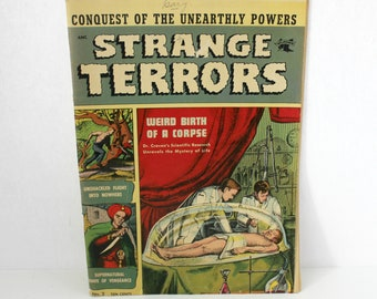 Strange Terrors Vol 1 No 2 Comic Book 1952