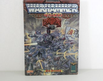 Vintage Warhammer 40K Rogue Trader Book HB RPG 1987 by Rick Priestley, Citadel Miniatures