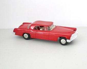 1956 or 1957 Lincoln Continental Mark II AMT Car Dealer Promo Dealership Friction Red