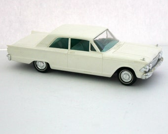 Vintage 1962 Ford Fairlane 2 Door Sedan Model Car Dealer Promo