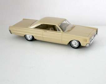 1965 Mercury Park Lane Marauder Car, Vintage Friction Model Car Dealer Promo