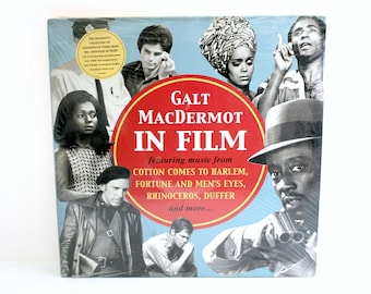 Galt MacDermot In Film Sealed 2x LP Soundtrack Collection, Hair, Rhinoceros