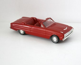 1963 Ford Falcon Futura Convertible Vintage Sport Coupe Dealer Promo Model Car