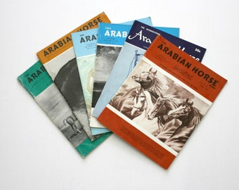 Lot 6 The Arabian Horse News Magazines 1960s Owners Breeders