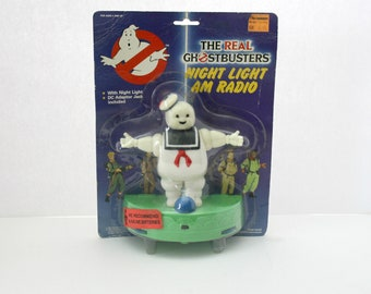 Real Ghostbusters Night Light AM Radio Sealed MIP 1988 Vintage