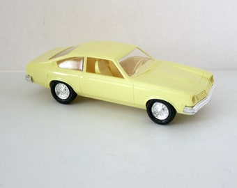 Vintage 1975 Chevrolet Chevy Vega Model Car Dealer Promo