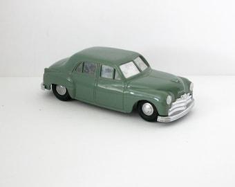 1940s Plymouth Sedan Wind Up Car Promo Dealership