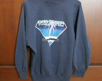 1986 Bob Seger & The Silver Bullet Band Sweatshirt, Music Concert