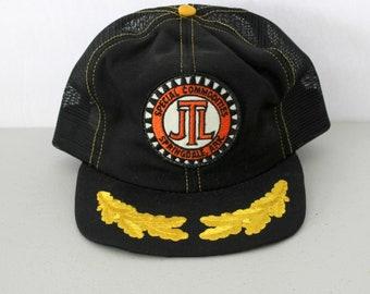 Vintage JTL Special Commodities Mesh Snap Back Cap Hat with Patch, Embroidery, Trucker Advertising Springdale, AR