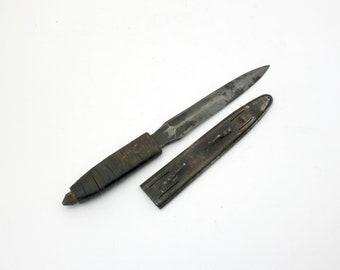 Antique LF&C 1918 Trench Knife Scabbard Sheath WWI