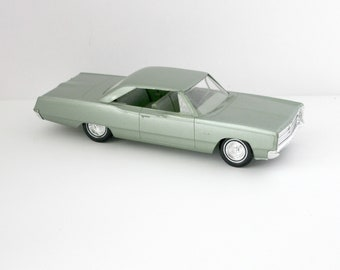 1967 Plymouth Fury III Vintage Model Car Dealer Promo