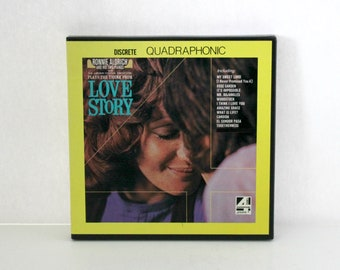 Ronnie Aldrich Love Story Discrete Quad Reel Tape Piano London Festival Orchestra 4 Track 7 1/2