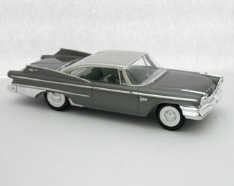 1960 Dodge Polara 2 Door Coupe Model Car, Vintage Reissue
