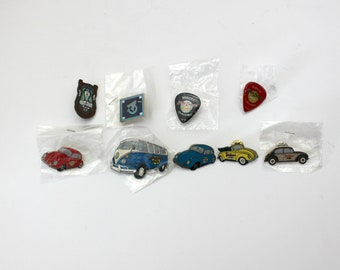Lot 9 Little League Rocks Pins, VW Bugs, Bus, Baseball Minors Tournament