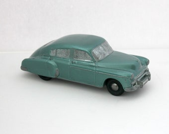 1949 1950 Chevy Fleetline Fastback Banthrico Bank Promo Diecast Metal Car
