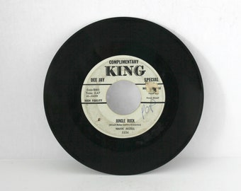 Hank Mizell Jungle Rock 45 rpm Record DJ W/L Promo