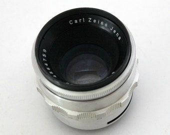 Vintage Carl Zeiss Jena Biotar 2/58 58mm f2 Camera Lens