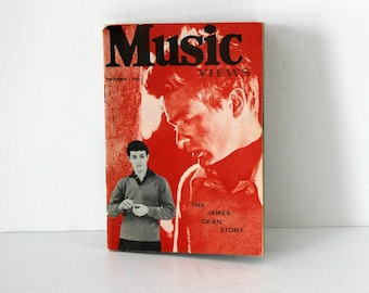 Music Views Magazine September 1957 James Dean Story