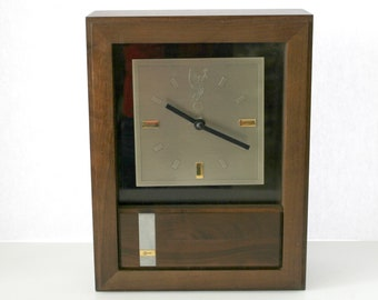 Vintage AT&T Console Desk Mantle Clock, Mid Century Award Telephone Company