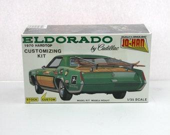 Vintage 1970 Cadillac Eldorado Hardtop Custom Model Kit, Jo-Han Sealed NIB