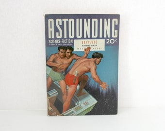 Astounding Science Fiction Pulp Magazine, May 1941 Issue, Spaceship Universe