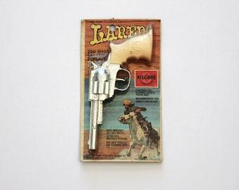 Vintage Kilgore Laredo Pistol Cap Gun Sealed MIP NOS New in Package, Vintage Western