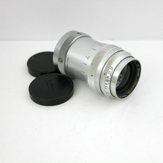 Steinheil Muchen Culminar VL 85mm 8.5cm f2.8 Lens w/ Leica Screw Mount