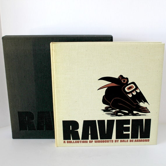 Raven Collection of Woodcuts Art Book by Dale De Armond, Signed Numbered Limited Edition 15/1250