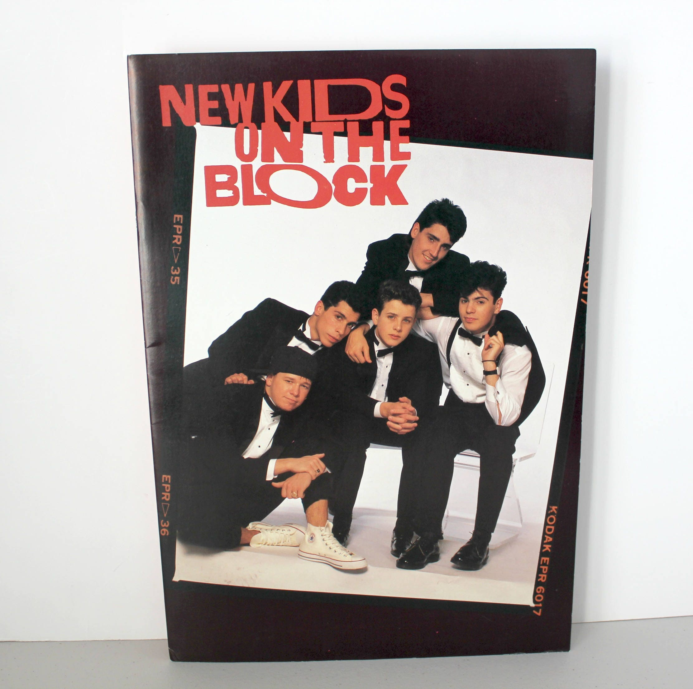 Vintage 1989 NKOTB Poster Book, New Kids On The Block Large Posters ...