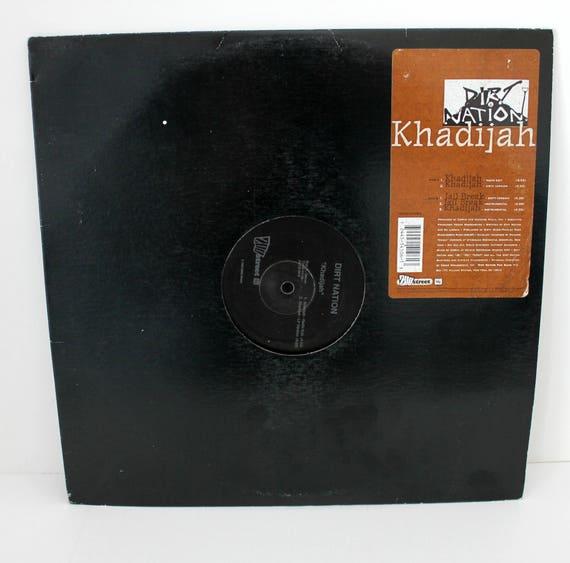 Dirt Nation Khadijah Jail Break LP Record Album on Zoo Street 1993