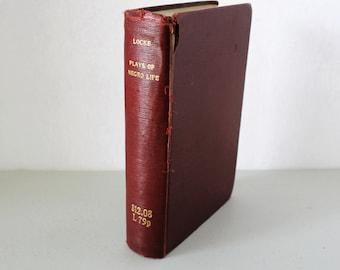 Plays of Negro Life HB Book, Native American Drama, 1st Ed 1-B, 1927, Theatre, Alain Locke, Montgomery Gregory