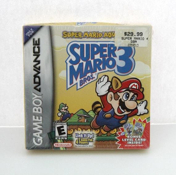 2003 Super Mario Bros 3 Game Boy Advance GBA Sealed Nintendo MPG