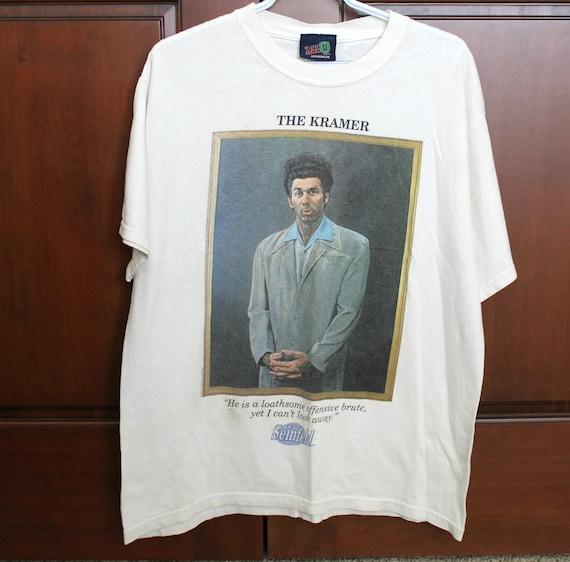 1993 The Kramer Seinfeld T Shirt Size Large | Vintage TV Show Clothing