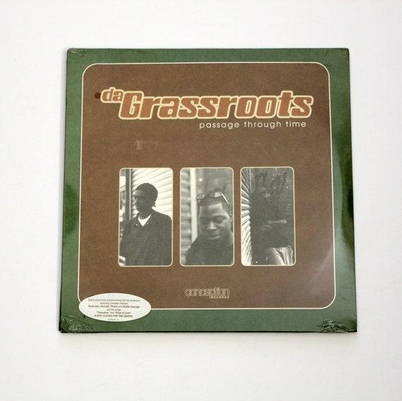 Da Grassroots Passage Through Time Double LP Sealed New Hip Hop Conception Records