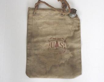Vintage US Forest Service Ames Harris Neville Canvas Water Bag 1960s