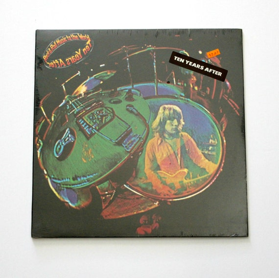 Sealed Ten Years After LP Rock & Roll Music to the World, Vintage 1970s Record Album Blues