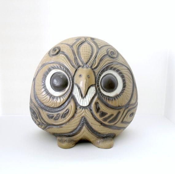 Vintage Owl Statue, Mid Century Mod 1978 Universal Statuary