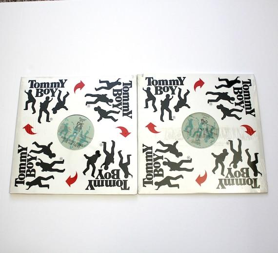 "Lot 2 Sealed De La Soul 12"" Single Records Buddy Ghetto Thang Ring Tommy Boy 1989 Hip Hop Rap"