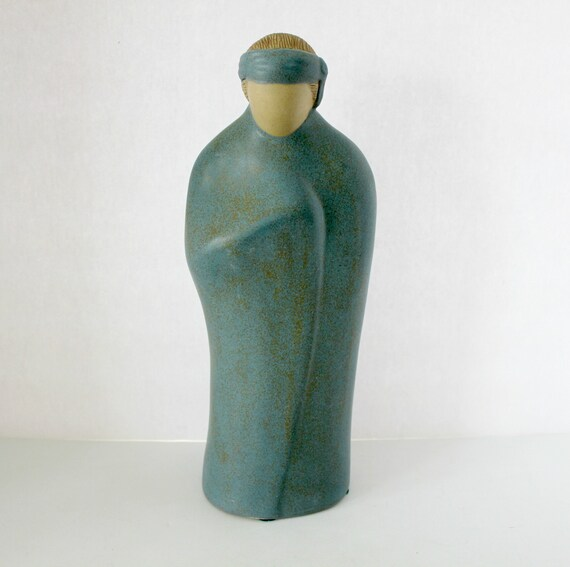 """1984 Jack Black Native American Pottery Sculpture Figure 