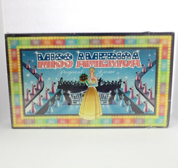 Vintage 1988 Miss America Pageant Game by Nalpac, NOS Sealed Board Game