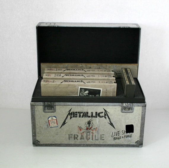 1992 Metallica Live S*** Binge & Purge Box Set with CDs, VHS, and Booklet w/ Snake Pit Stage Pass
